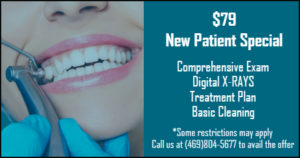 $79 Dental Exam, XRay and Basic Cleaning Offer from Dentist in Garland, TX